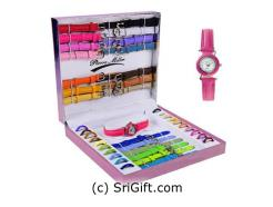 20pcs Interchangeable Ladies Watch set