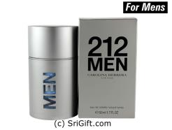 The second men's fragrance by Carolina Herrera. This unique fresh fragrance is packaged in a delightful metal and glass bottle with a magnetic lid (Designed by Fabien Baron). 50ml