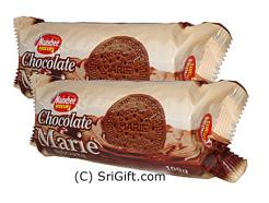2 Pack Of Munchee Chocolate Marie Biscuits